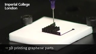 3D printing graphene parts