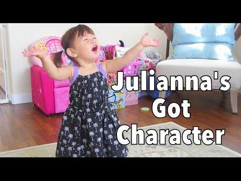Julianna's Got Character - July 02, 2014 - itsJudysLife Daily Vlog