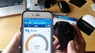 Connecting Crane Analogue Smartwatch to the Crane Connect App on Android & iOS