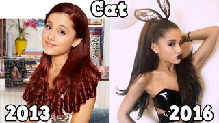 Sam & Cat  Antes y Después 2016