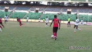 Chennai City FC Team win Football Match