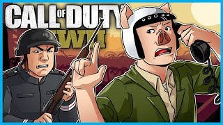 Call of Duty: World War II Funny Moments! - Phone Call Killcam, 1v1