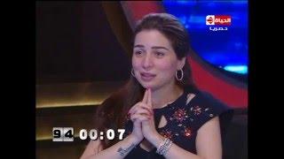 """100 سؤال - البرنسيسة مي عز الدين """"محمد فؤاد عملي بداية كبيرة """" وترفض ذكر أجرها الحالي"""