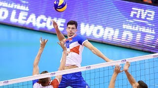 TOP 20 Crazy Volleyball Actions by Srecko Lisinac | Attack in 3rd meter | World League 2017