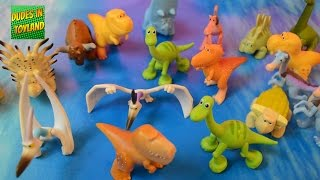 The Good Dinosaur toys for kids - dino toy videos