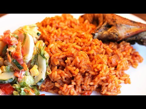 Nigerian Party Jollof Rice | All Nigerian Recipes