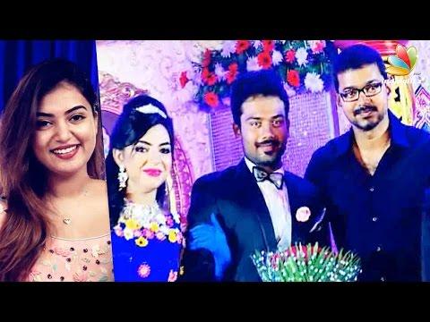 Exclusive: Actor Vijay, Nazriya at Pandirajan's son Prithivirajan's Marriage | Wedding Reception