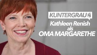 KUNTERGRAU Season 2 Cast | Kathleen Renish as OMA MARGARETHE