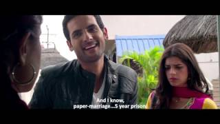 Paper Marriage And Real Marriage | Funny Scene | Bachaana 2016