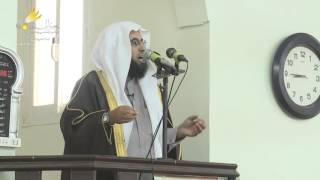 خطبة  - إن الله معنا - الشيخ حفيظ الدوسري