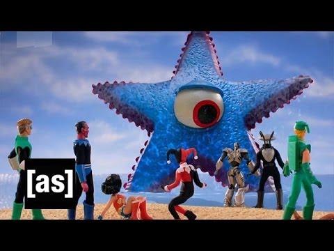 Starro Attacks Robot Chicken Adult Swim