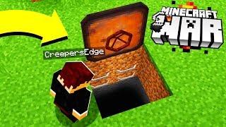 i found a SECRET Minecraft Hatch DOOR..leading DEEP underground.. (wow)