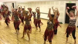 Dance rehearsal video Kaddu katega from R Rajkumar !