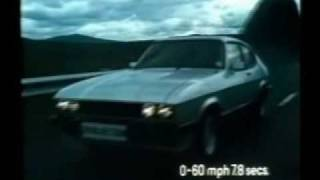 1981 Ford Capri 2.8i Injection television advert