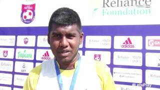 RFYS: Pune Sr. Boys - St. Vincent's High School Interview