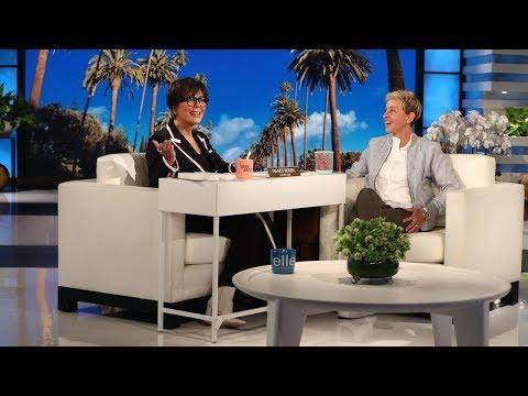 Kris Jenner Interviews Ellen to Be Her Assistant