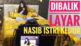 Dibalik Layar (Nasib Istri Kedua) Shima Assyidanada lagi shooting video clip