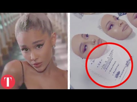 "All The Hidden Messages In Ariana Grande's Music Video ""No Tears Left To Cry"""