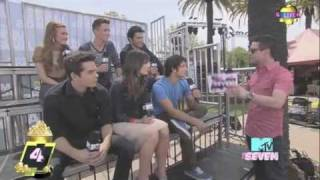 Teen Wolf Cast Interview with The Seven