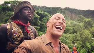 Dwayne 'The Rock' Johnson Has Kevin Hart's Penis In His Back For Hours On Set of 'Jumanji'