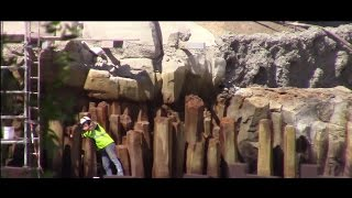 Disneyland - 4/18/17 Rivers of America Construction/Big Thunder Mountain/Critter Country