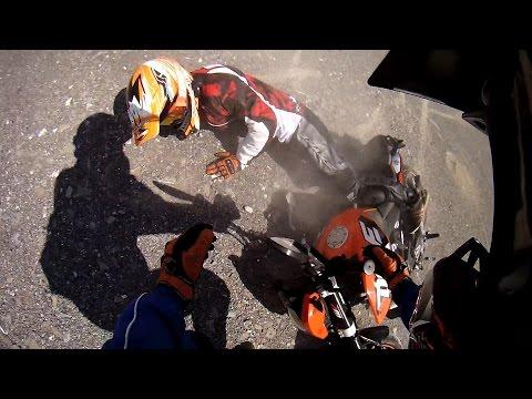 KTM Duke 125 Crash   Funny Fail