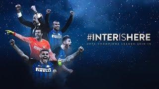 #INTERISHERE   Champions League 2018/19 🐍🖤💙