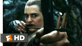 The Hobbit: The Desolation of Smaug - Captured by the Elves Scene (2/10) | Movieclips