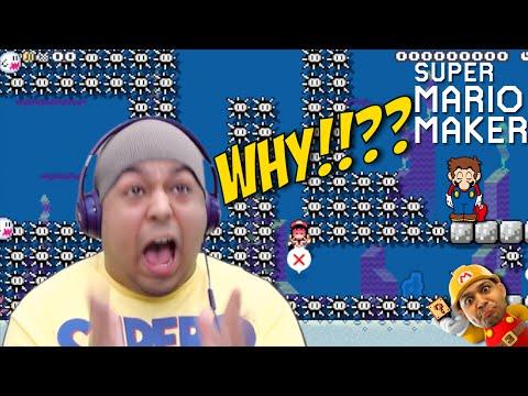 F#%KING UNDERWATER BULLSH#T!! [SUPER MARIO MAKER] [#33]