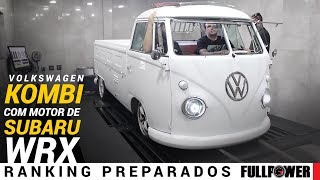 VW Kombi 1974 custom no visual e motorzão de Subaru WRX