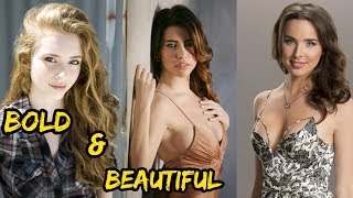 Top 6 Beautiful  Actress The Bold and the Beautiful (American Tv Show) || 2018|| Real Age || Height