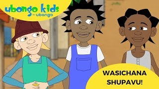 Kibena! Kiduchu! Amani! | Wasichana wa Ubongo Kids | Katuni za Elimu kwa Kiswahili