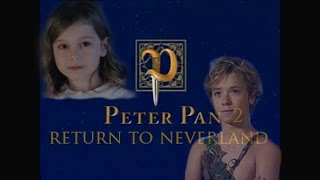 Peter Pan 2 Return To Neverland movie trailer