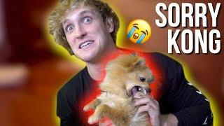 I hate hurting my dog :(