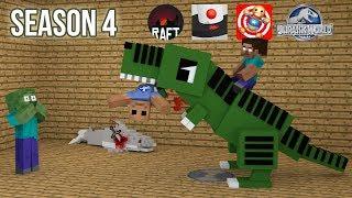 Monster School : SEASON 4 - Minecraft Animation