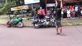 Sinetron Anak Jalanan RCTI saat sedang syuting