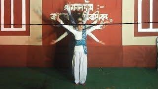 aji jharo jharo mukhoro badolo dine dance performance
