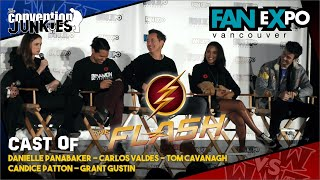 The Flash (Cast) Fan Expo Vancouver - Full Panel
