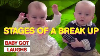 Babies Explain Stages of A Break Up | Explained By Babies