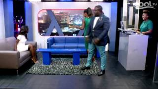 THE LATE NIGHT SHOW - Guest Kehinde Smith (Pt.1) | Cool TV