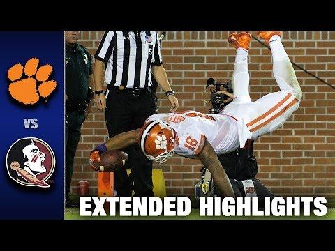 Clemson vs. Florida State Extended Football Highlights 2016