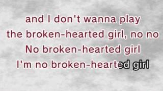 Beyoncé - Broken-Hearted Girl(Karaoke and Lyrics Version)