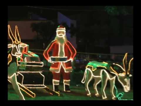 Alumbrado y decoraciones navideñas en Cúcuta