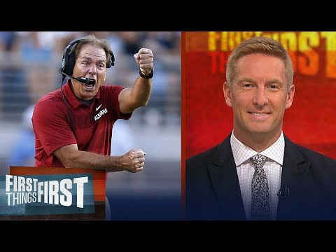 Joel Klatt on the latest CFB playoff rankings Ohio State s struggles CFB FIRST THINGS FIRST