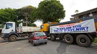إضراب عام في إقليم غويانا الفرنسي قبل ثلاثة أسابيع من الانتخابات الرئاسية
