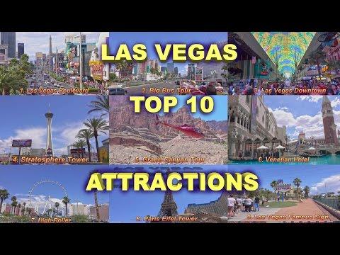 Las Vegas Top 10 Attractions  2016 4K
