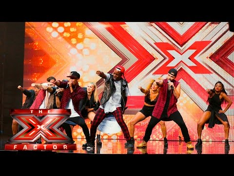 The First Kings are too hot Auditions Week 1 The X Factor UK 2015
