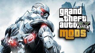 CRYSIS in GTA 5! Mod Gameplay!