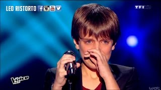 AMAZING YOUNG BOY singing - I will always love you @ THE VOICE KIDS
