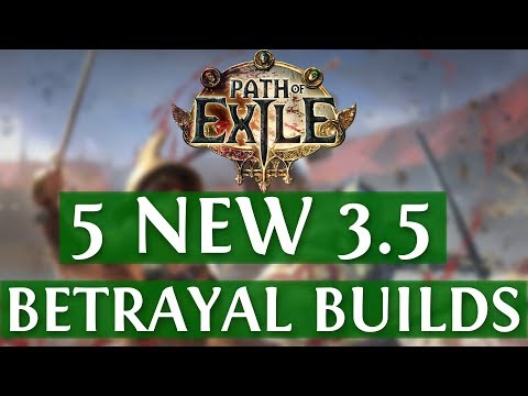 Xxx Mp4 5 NEW Path Of Exile Betrayal Builds PoE Builds 3 5 2019 3gp Sex